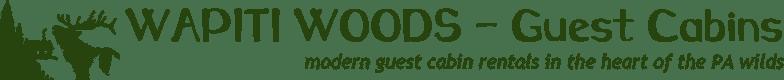 WAPITI WOODS – Guest Cabins Logo